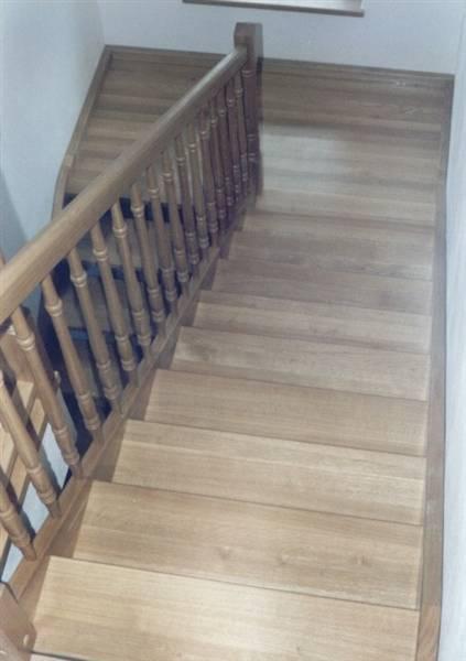 treppe mit podest. Black Bedroom Furniture Sets. Home Design Ideas